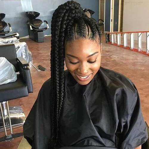 55 Flattering Goddess Braids Ideas To Inspire You   Hair Intended For Most Popular Side Pony And Raised Under Braid Hairstyles (View 21 of 25)