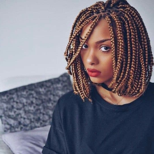 55 Hottest Feed In Braids – Cornrow Styles To Obsess Over [2019] In Most Up To Date Angled Cornrows Hairstyles With Braided Parts (View 17 of 25)