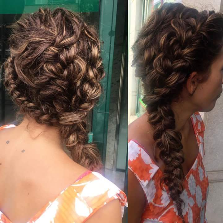 55+ Trendy Head Turning Boho (Bohemian) Hairstyles For All Intended For Most Up To Date Chic Bohemian Braid Hairstyles (View 18 of 25)