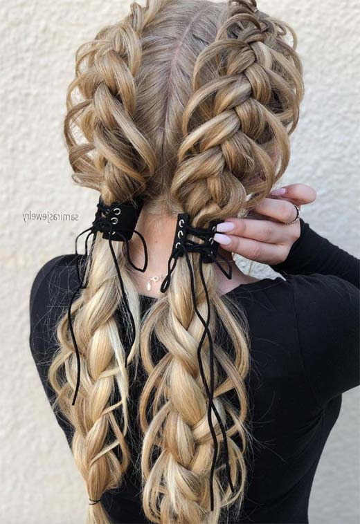 57 Amazing Braided Hairstyles For Long Hair For Every In Recent Loose 4 Strand Rope Braid Hairstyles (View 5 of 25)