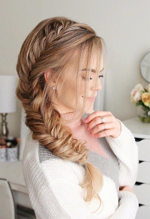 57 Amazing Braided Hairstyles For Long Hair For Every With Regard To Newest Rope And Fishtail Braid Hairstyles (View 7 of 25)