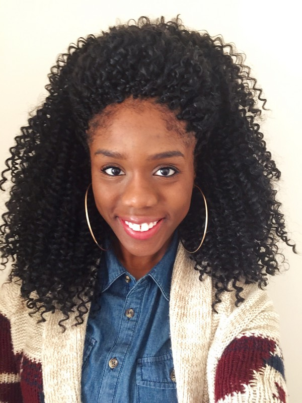 57+ Crochet Braids Trends And Products Reviewed [Summer 2019] Within Best And Newest Curly And Messy Micro Braid Hairstyles (View 24 of 25)