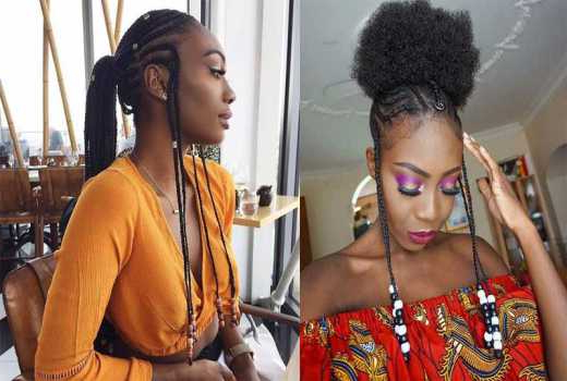 6 Fulani Braids Hairstyles That Every Woman Will Fall In Inside Most Popular Afro Under Braid Hairstyles (View 22 of 25)