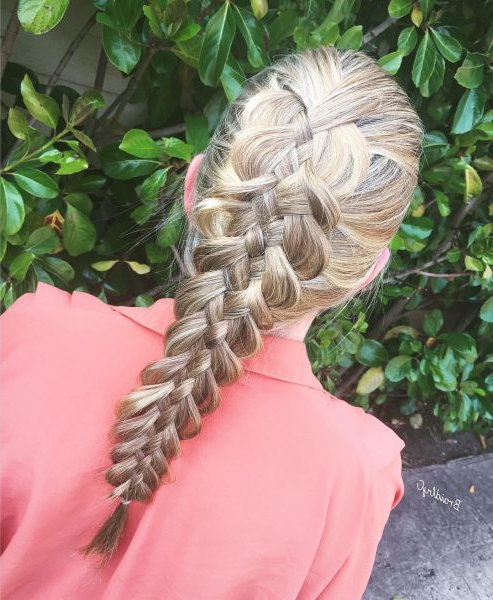 60 Best Braids, Braid Styles, Braided Hairstyles For Women 2019 With Most Up To Date Oversized Fishtail Braided Hairstyles (View 6 of 25)