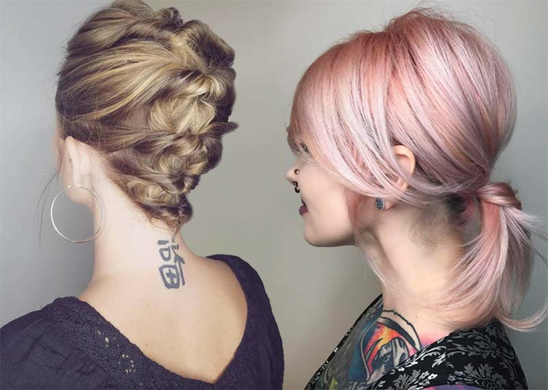63 Creative Updos For Short Hair Perfect For Any Occasion In Most Current Softly Pulled Back Braid Hairstyles (View 21 of 25)