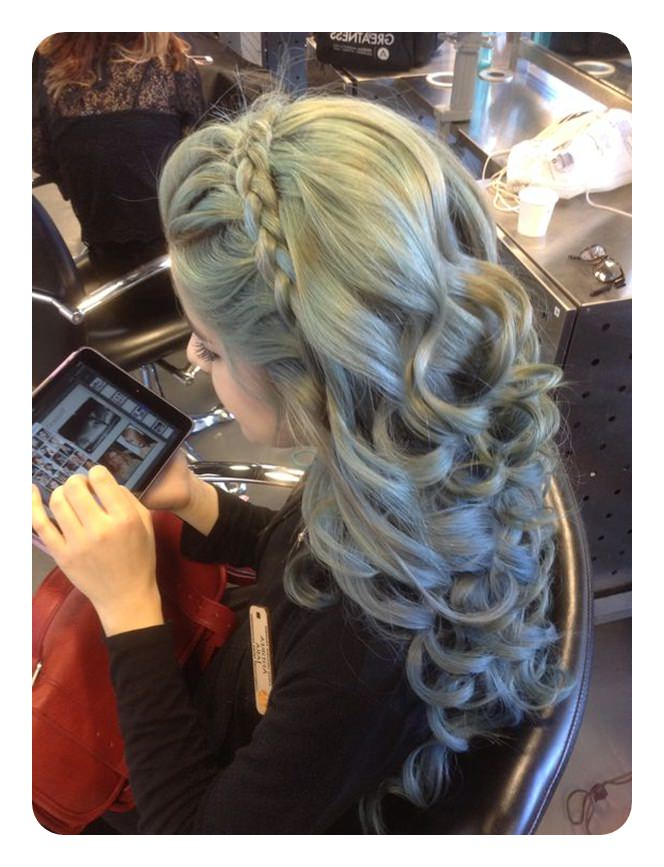 63 Sweet Headband Braids That Will Look Awesome This Summer For Latest Tight Braided Hairstyles With Headband (View 23 of 25)