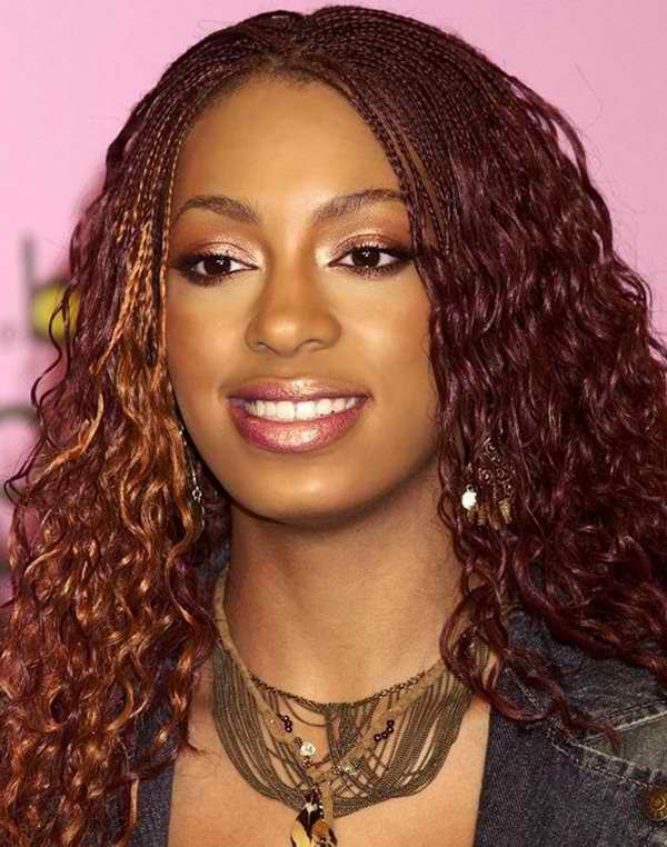 65 Best Micro Braids To Change Up Your Style Intended For Most Current Red And Brown Micro Braid Hairstyles (View 10 of 25)