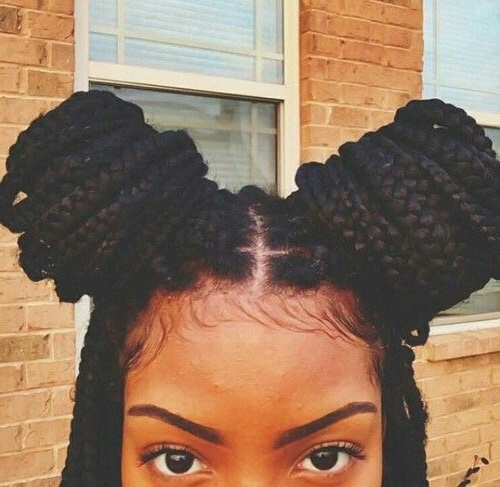 65 Box Braids Hairstyles For Black Women Intended For Most Popular Braided Hairstyles With Beads And Wraps (View 19 of 25)