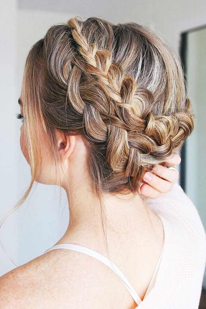 65 Charming Braided Hairstyles | Annettes Hair | Hair Styles Regarding Latest Double Crown Updo Braided Hairstyles (View 5 of 25)