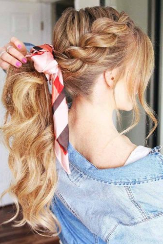 65 Charming Braided Hairstyles   Lovehairstyles Throughout Recent Rope And Fishtail Braid Hairstyles (View 12 of 25)