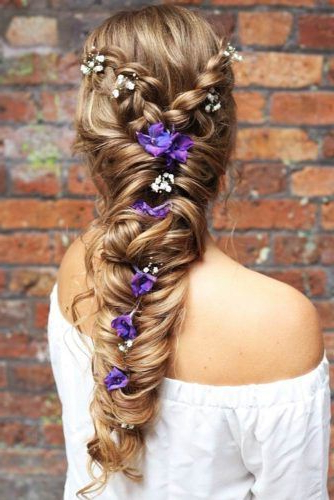 65 Charming Braided Hairstyles | Lovehairstyles With Regard To Most Recently Double Headband Braided Hairstyles With Flowers (View 25 of 25)