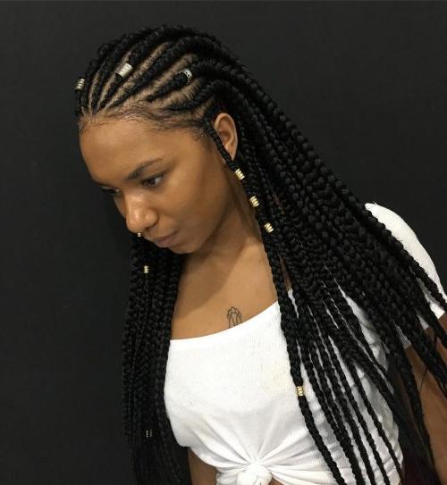 66 Cool And Trendy Lemonade Braids For Current Diamond Goddess Lemonade Braided Hairstyles (View 25 of 25)