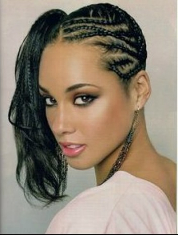 66 Of The Best Looking Black Braided Hairstyles For 2019 Inside Current One Side Braided Hairstyles (View 18 of 25)