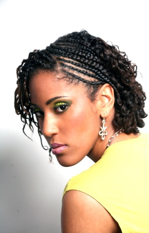 68 Inspiring Black Braid Hairstyles For Black Women – Style With Regard To Most Up To Date Angled Braided Hairstyles On Crimped Hair (View 4 of 25)