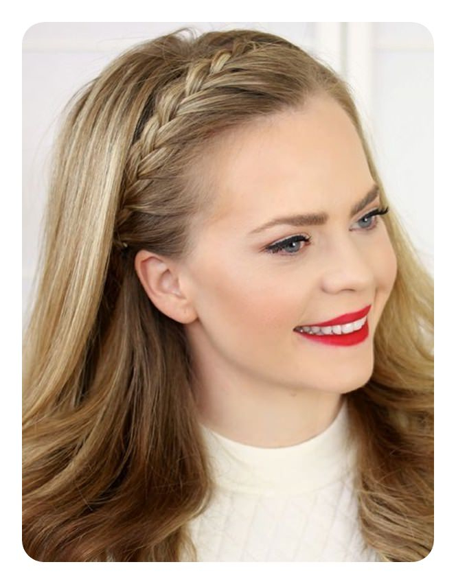 69 Easy And Elegant Headband Braid Hairstyles For Everyone! Intended For 2018 Braid Hairstyles With Headband (View 7 of 25)