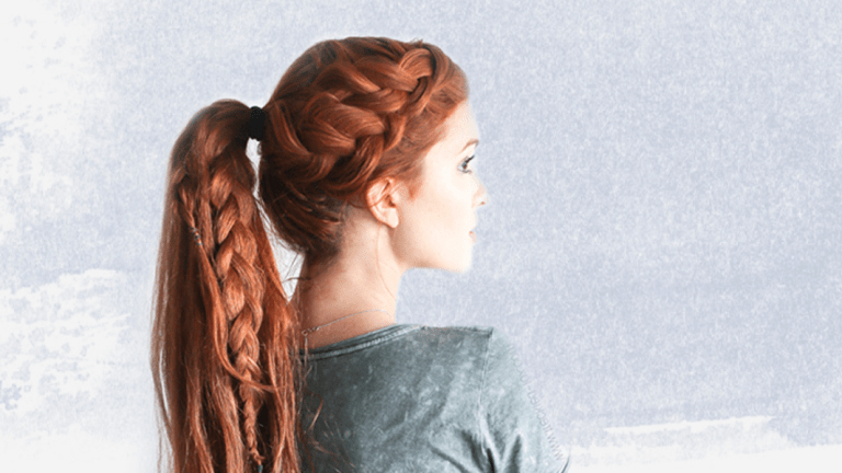 7 Easy Braid Tutorials For Beginners - Verily pertaining to Best and Newest Intricate Rope Braid Ponytail Hairstyles