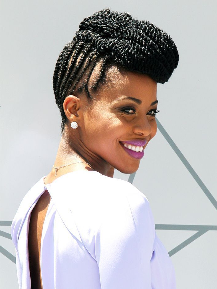 7 Protective Hairstyles For Every Skill Level With Latest Natural Protective Bun Micro Braid Hairstyles (View 8 of 25)