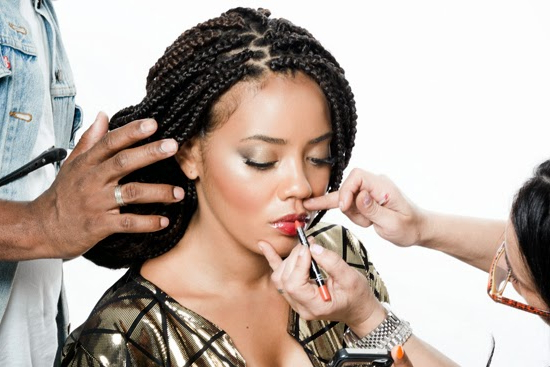 71 Classy Micro Braids Hairstyles For 2019 – Hairstylecamp Intended For Latest Black Twists Micro Braids With Golden Highlights (View 22 of 25)