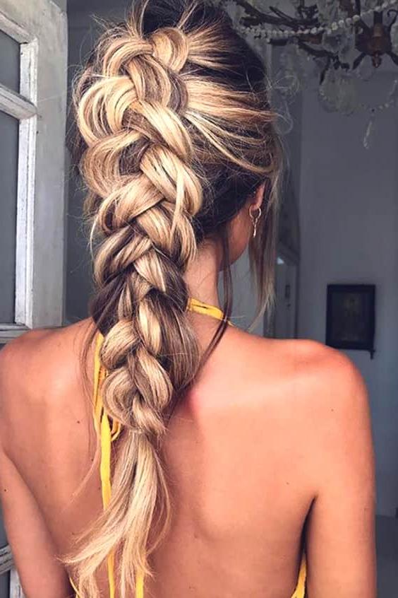 72 Romantic Wedding Hairstyle Trends In 2019 | Ecemella Regarding Newest Wedding Braided Hairstyles (View 13 of 25)