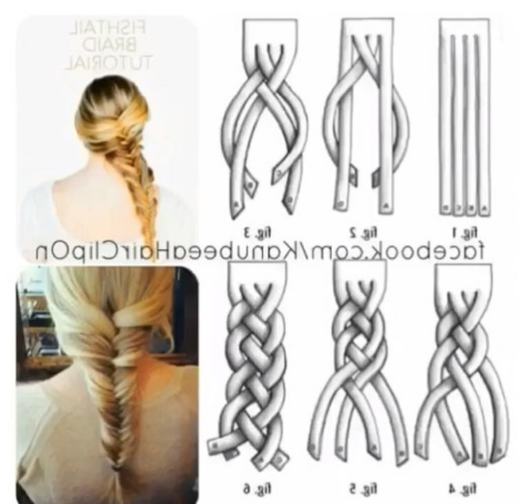 72 Trendy Diy Hairdo Braid Tutorials To Hog The Limelight for Latest Mermaid Inception Braid Hairstyles