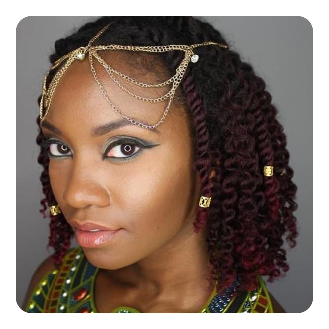76 Outstanding Kinky Twist Hairstyle To Try Out This Year inside Recent Purple Passion Chunky Braided Hairstyles