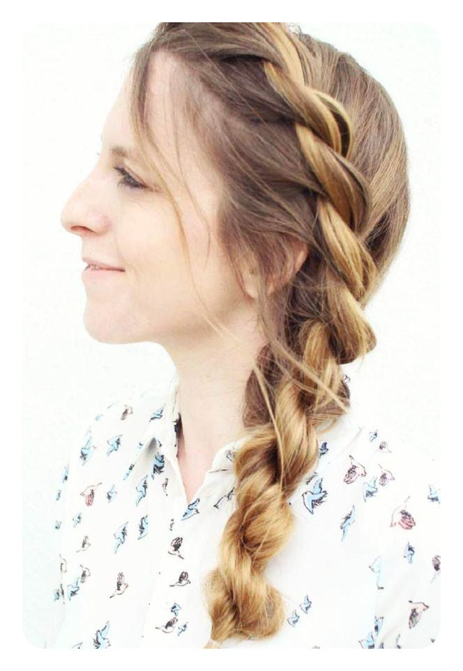 78 Unique And Fashionable Rope Braid Hairstyles pertaining to Most Recently Casual Rope Braid Hairstyles