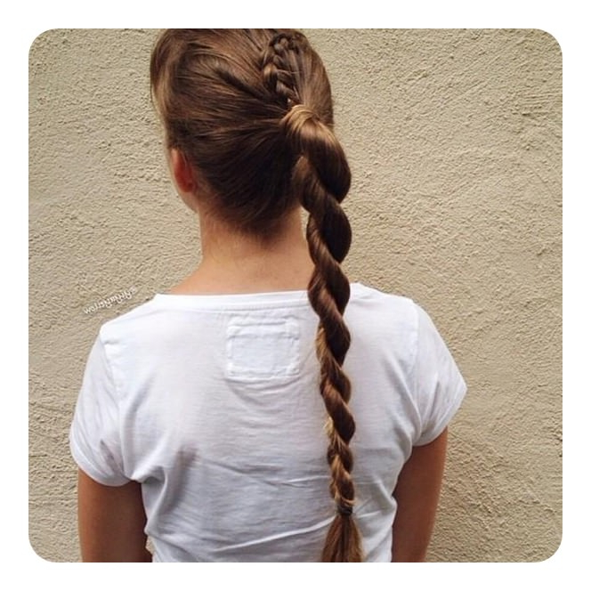 78 Unique And Fashionable Rope Braid Hairstyles regarding Current Intricate Rope Braid Ponytail Hairstyles