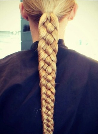 8 Braided Hairstyles To Dress Up Your Boring Ponytail | Hair regarding Newest Intricate Rope Braid Ponytail Hairstyles