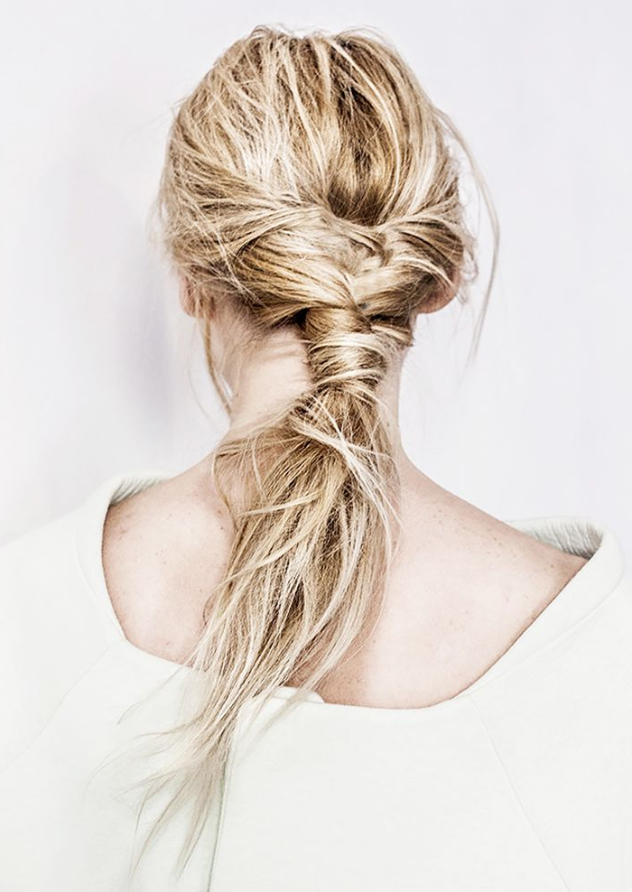 8 Hairstyles That Look Way Better On Second-Day Hair for Current Secured Wrapping Braided Hairstyles