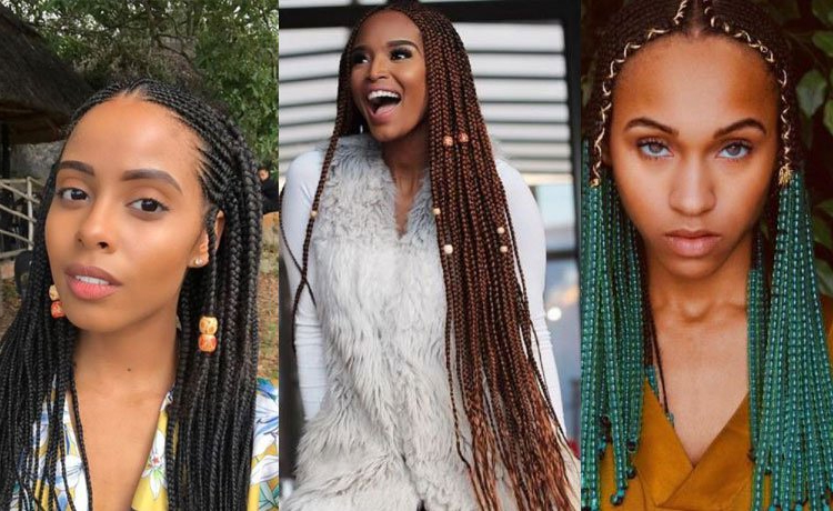 8 Ways To Rock Braids With Beads – All 4 Women throughout Most Up-to-Date Long Braid Hairstyles With Golden Beads