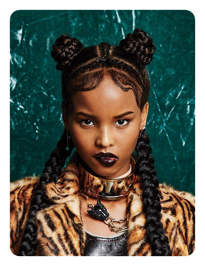 81 Cool Bantu Knots Hairstyles And Tutorial - Style Easily inside Best and Newest Bantu Knots And Beads Hairstyles