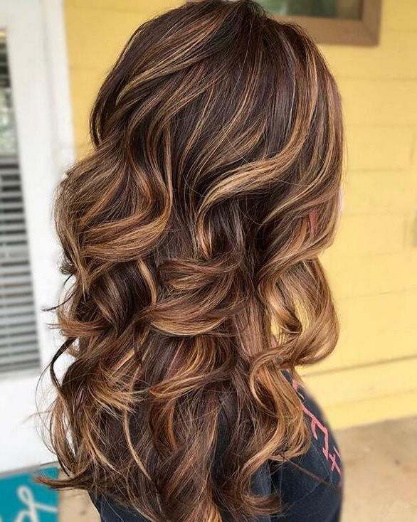 86 Brilliant Brown Hair With Blonde Highlights Ideas Pertaining To Current Tiny Twist Hairstyles With Caramel Highlights (View 6 of 25)