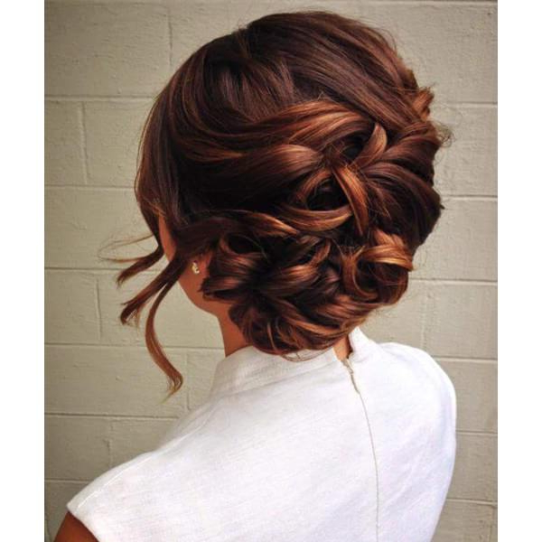 87 Stunning Braided Updo's For Your Next Event intended for Most Recently Vintage Inspired Braided Updo Hairstyles