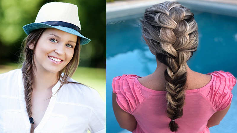 9 Beautiful Fishtail Braid Hairstyles For Women In 2019 Intended For Most Current Heart Shaped Fishtail Under Braid Hairstyles (View 11 of 25)