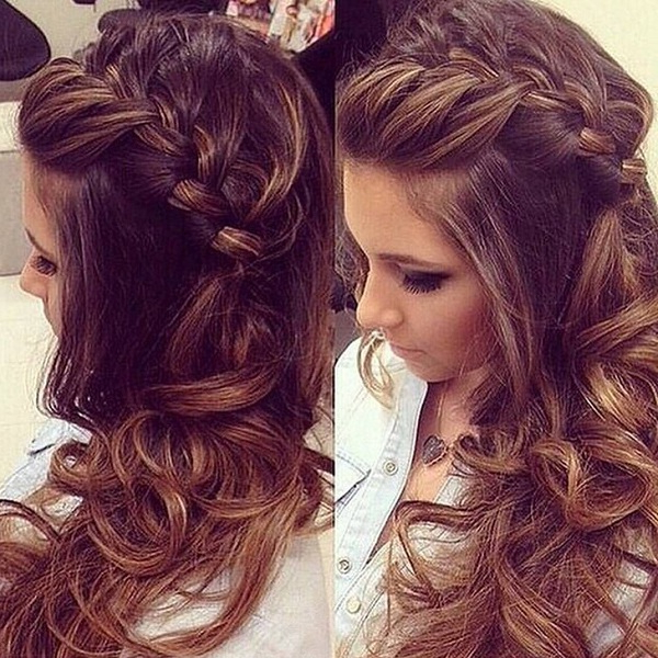 9 Best Indian Hairstyles For Curly Hair | Styles At Life Throughout Most Recent Angled Braided Hairstyles On Crimped Hair (View 18 of 25)