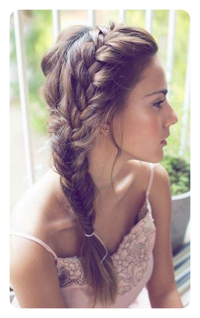 94 Incredible Fishtail Braid Ideas With Tutorials With Most Up To Date Messy Mermaid Braid Hairstyles (View 20 of 25)