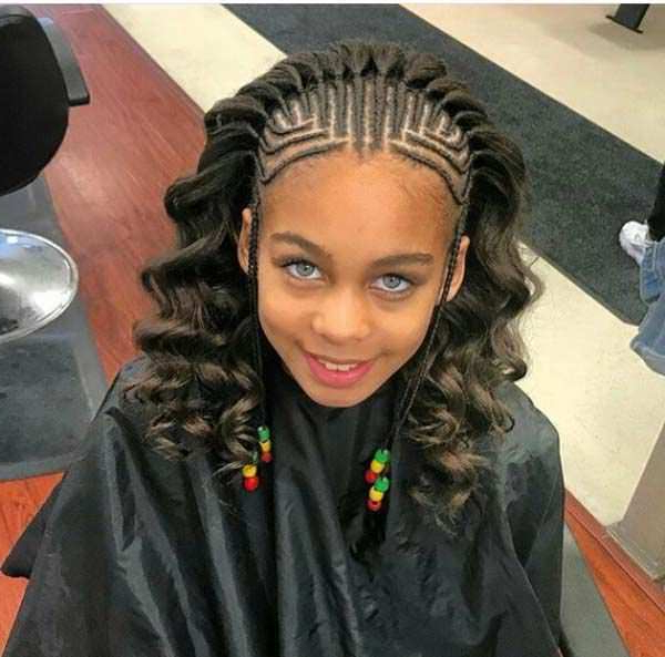 95 Fun African Braids That Are Totally In Vogue Within Most Recently Stylishly Swept Back Braid Hairstyles (View 21 of 25)