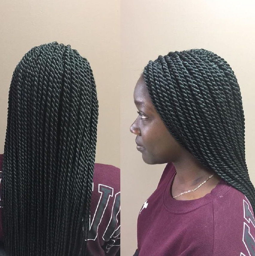 96 Tree Braid Hairstyles That Will Get You Back To Nature Regarding Most Recently Blue Sunset Skinny Braided Hairstyles (View 13 of 25)