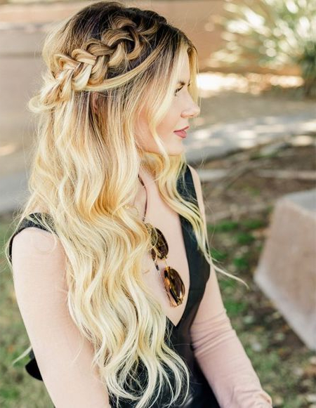 Featured Photo of Long Blonde Braid Hairstyles