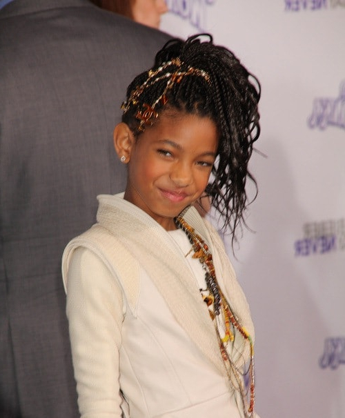 A Showy Box Braids Ponytail Simple Braids For Kids Within Newest Box Braid Bead Ponytail Hairstyles (View 25 of 25)