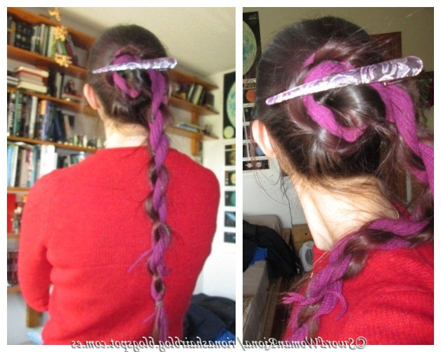 A Sword Woman's Natural Hair Blog: Hairstyles – Rope Braided For Most Recent Pink Rope Braided Hairstyles (View 17 of 25)
