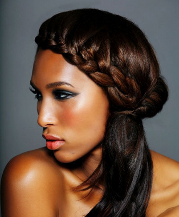 African Hair Braiding Styles – 10 African Braids Types With Best And Newest Loose Braided Hairstyles With Turban (View 25 of 25)