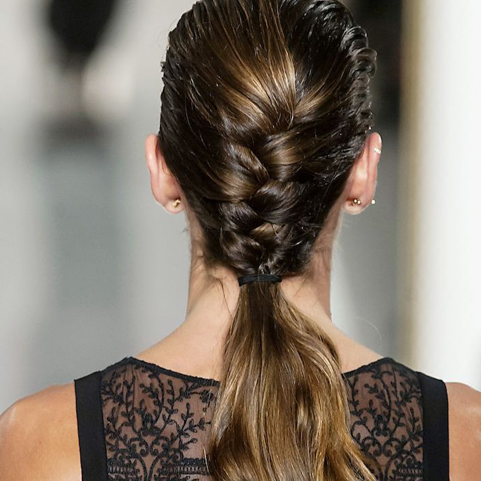 All The Summer Braid Inspo You Need, All In One Place With Newest Wrapped Ponytail Braid Hairstyles (View 12 of 25)