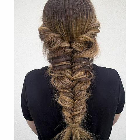 Amazing Large Fishtail Hairstyle | Hair And Hairstyles Throughout Best And Newest Oversized Fishtail Braided Hairstyles (View 2 of 25)