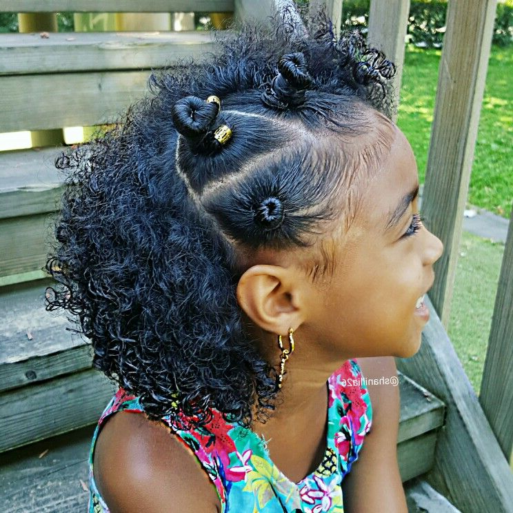 Bantu Knots On Little Girls …   Bantu Knots In 2019… In Newest Bantu Knots And Beads Hairstyles (View 23 of 25)