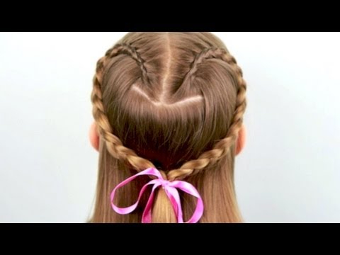 Beautiful Braids: How To Do A Heart Shaped Braid   Cutegirlshairstyles   Disney Style With Latest Heart Shaped Fishtail Under Braid Hairstyles (View 5 of 25)