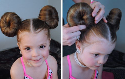 Best 11 Minnie Mouse Hair Bun Tutorial – Skillofking With Most Recently Minnie Mouse Buns Braid Hairstyles (View 7 of 25)