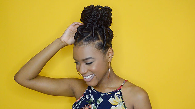 Best Faux Locs Method | Easy And Cheap Regarding Recent Wrap Around Triangular Braided Hairstyles (View 13 of 25)