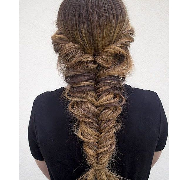 Big Fish Tale | Hair In 2019 | Braided Hairstyles, Long Hair Pertaining To Recent Mermaid Braid Hairstyles With A Fishtail (View 7 of 25)