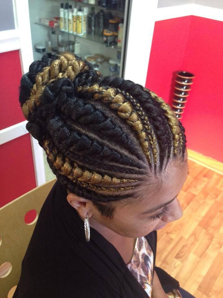 Big+Cornrow+Hairstyles+For+Women | Big/small Cornrows Throughout Recent Thick Cornrows Bun Hairstyles (View 3 of 25)